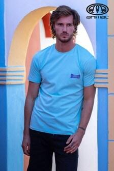 Animal Established T-Shirt, Blassblau