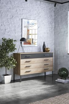 Jenson 4 Drawer Wide Chest