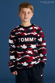 Tommy Hilfiger Camouflage Print Sweatshirt