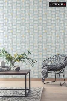 Arthouse Retro Block Wallpaper