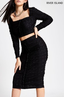 River Island Black Going Out Pack Dolmeo Skirt