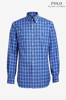 Polo Ralph Lauren Blue Custom Shirt