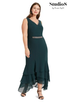 Studio 8 Green Valentina Maxi Dress