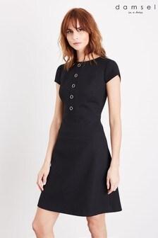 Damsel In A Dress Black Aymel Dress
