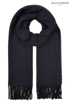 Accessorize Blue Holly Supersoft Scarf