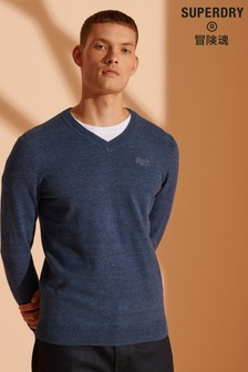 Superdry Orange Label V-Neck Jumper