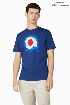 Ben Sherman Ink Plectrum Target T-Shirt