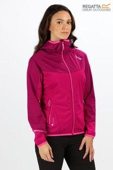 Regatta Pink Womens Tarvos II Softshell Jacket