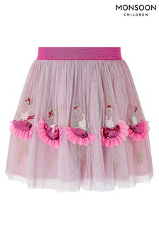 Monsoon Children Pink Disco Ballerina Skirt