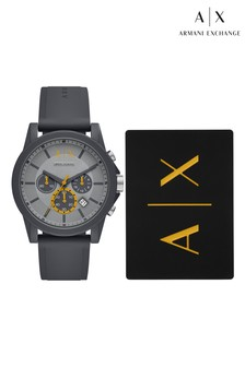 Armani Exchange Outerbanks Watch And Cardholder Set