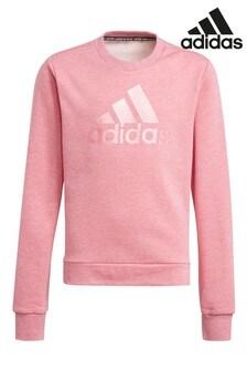 adidas Pearl Logo Crew Sweater