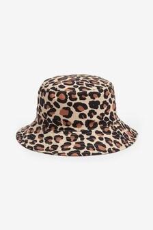 Leopard Print Fisherman's Hat (Older)