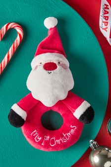 My 1st Christmas Rattle
