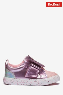Kickers® Pink Butterfly Trainers