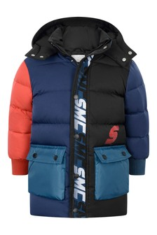 Boys Multicoloured Padded Coat