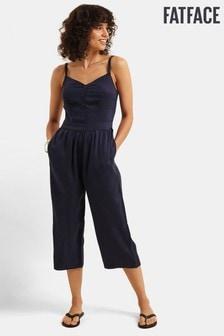 FatFace Blue Talli Jumpsuit