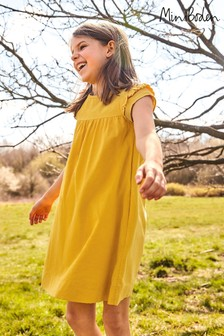 Mini Boden Yellow Easy Everyday Dress