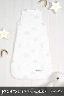Personalised 2.5 Tog Grey Sleep Bag