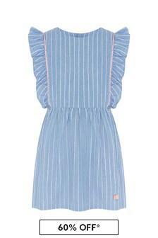 Carrement Beau Blue Cotton Dress