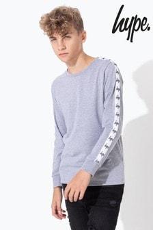 Hype. Long Sleeve Tape T-Shirt
