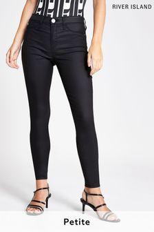 River Island Petite Black Molly Joyride Jeans