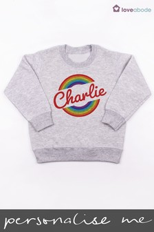 Personalised Rainbow Jumper by Loveabode