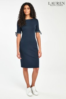 Lauren Ralph Lauren® Navy Brandies Dress