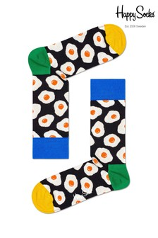 Happy Socks Multi Egg Print Socks