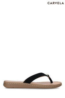 Carvela Comfort Black Sweet Sandals