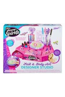 Shimmer 'n Sparkle Nail And Body Art Designer Studio