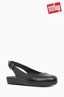 FitFlop™ Black Sarita Slingback