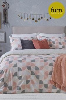 Luna Duvet Cover and Pillowcase Set by Furn