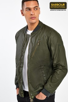 Barbour® International Olive Glendale Wax Jacket