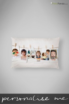 "Personalised Polaroid 12x18"" Cushion by Photo Panda"