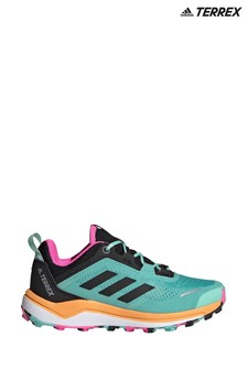 adidas Terrex Agravic Flow Primegreen Trail Running Youth And Junior Trainers