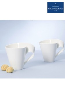 Set of 2 Villeroy and Boch NewWave Caffe Mugs