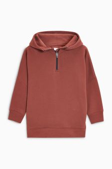 Zip Neck Hoody (3-16yrs)