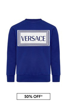 Versace Kids Cotton Sweatshirt