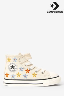Converse 1V Flower Infant Trainers