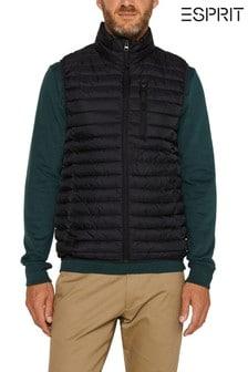 Černá prošívaná vesta EspritThinsulate