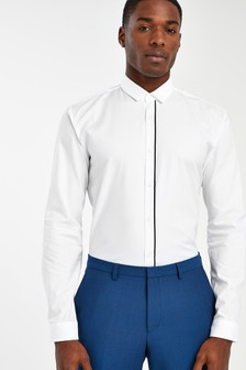 HUGO White Emilionn Structured Shirt