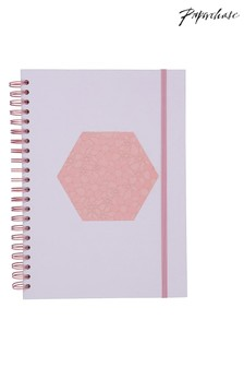 Paperchase Beautility A4 8 Part Subject Notebook
