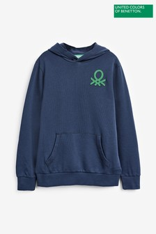Benetton Navy Hoody
