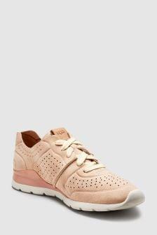 UGG® weiche, leichte Tye Sneaker, Ockergelb
