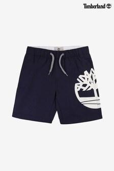 Timberland® Blue Logo Shorts