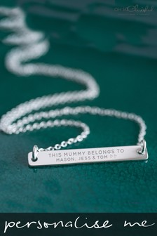 Personalised This Mummy Belongs To Necklace by Oh So Cherished