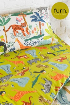 Little Furn Jungletastic Fitted Sheet by Furn