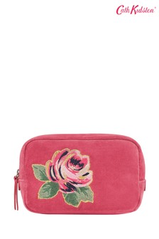 Cath Kidston® Pink Velvet Make-Up Bag