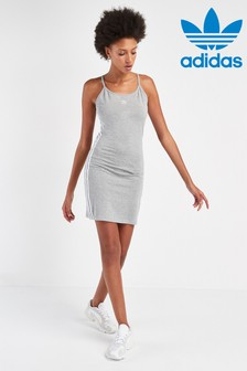 adidas Originals Grey Tank Dress