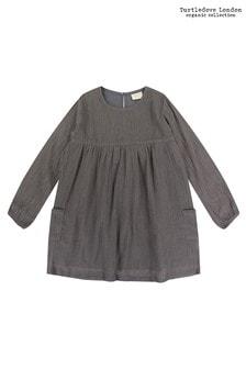 فستان Cheesecloth رمادي من Turtledove London